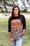 Buck stitch baby long sleeve top