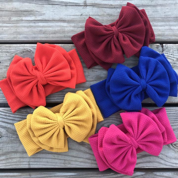 Toddler/Infant Headband Bow (Preorder)