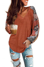 Load image into Gallery viewer, Kayla's waffle knit top - 6 color choices