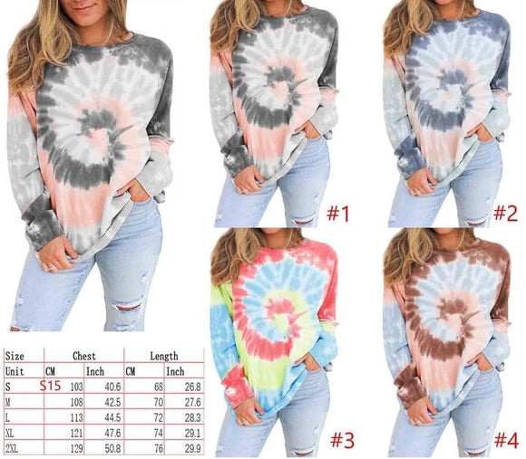Lindsays perfect tie dye top