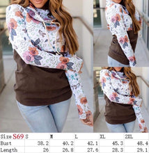 Load image into Gallery viewer, Ashley's floral hoodie