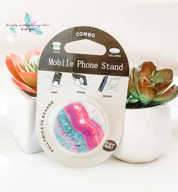 Multi Color phone grip and stand