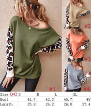 Load image into Gallery viewer, The perfect touch of leopard sweater