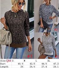 Load image into Gallery viewer, Leona's Leopard top hoodie - 3 color choices