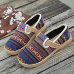 Vintage Weaving Ethnic Style Women's Shoes