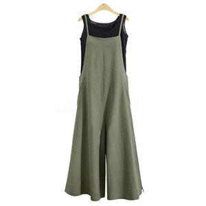 Prefect Fit Cotton Pocketed Overalls