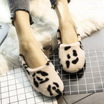 Leopard Casual Flat Shoes