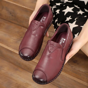 Leather Comfortable Non-Slip Shoes