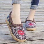 Handmade Ethnic Style Cloth Shoes