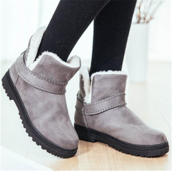 Women Casual Fashion Ankle Cotton Snow Boots