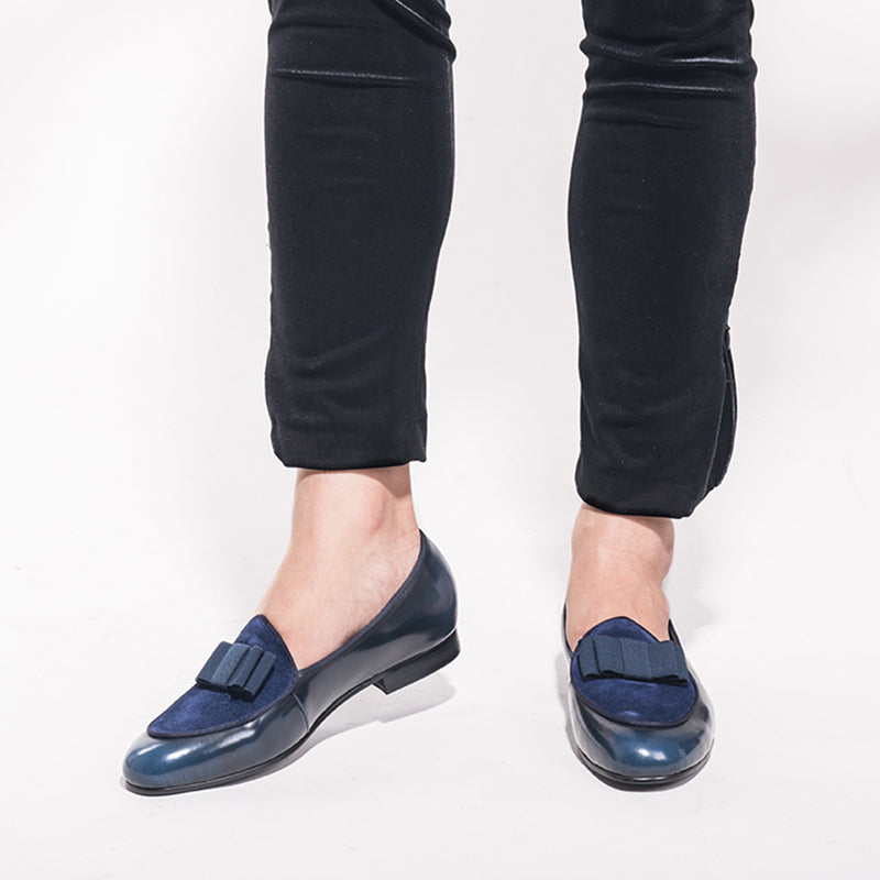 Men's Fashion Trend Butterfly Loafers
