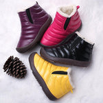 Warm Lining Soft Waterproof Snow Boots For Toddlers And Kids