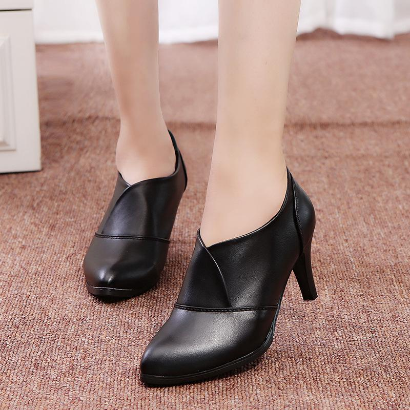 High Heeled Pumps Solid Color Casual Elegant Shoes