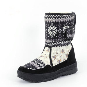 Winter Warm Non-Slip Rubber Outsole  Snowboots