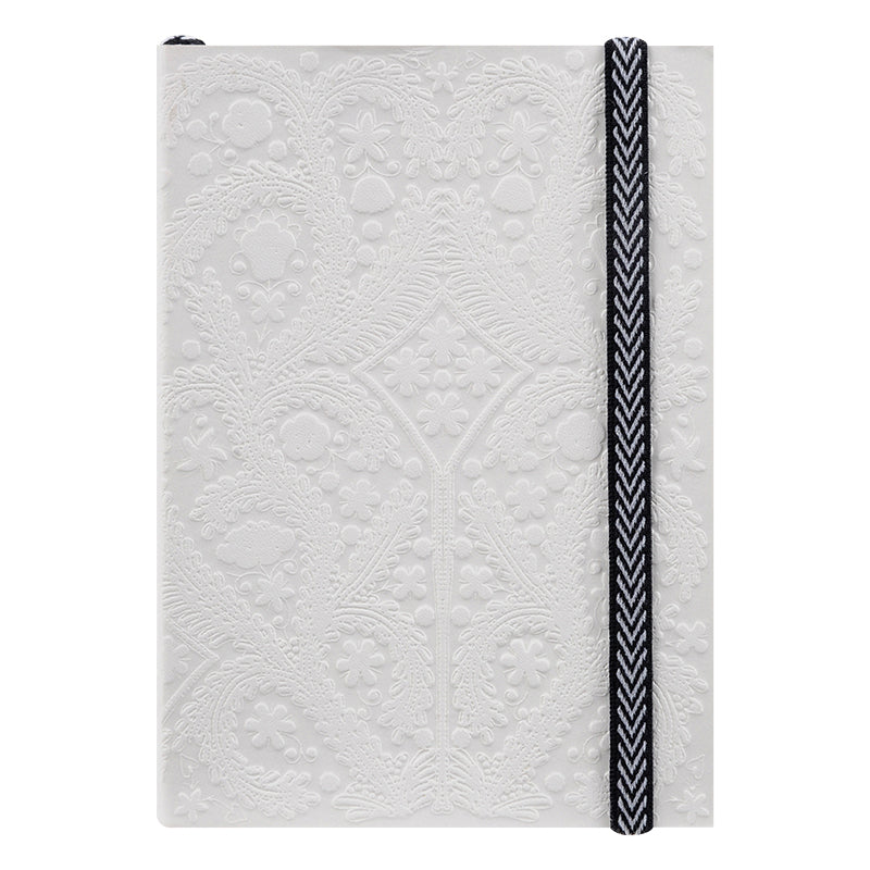 Christian Lacroix Paseo White Notebook - Small