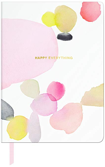 Happy Everything Water Study Pebble Soft Journal
