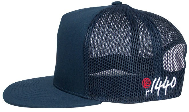 720 Hat Flat Bill Mesh Back