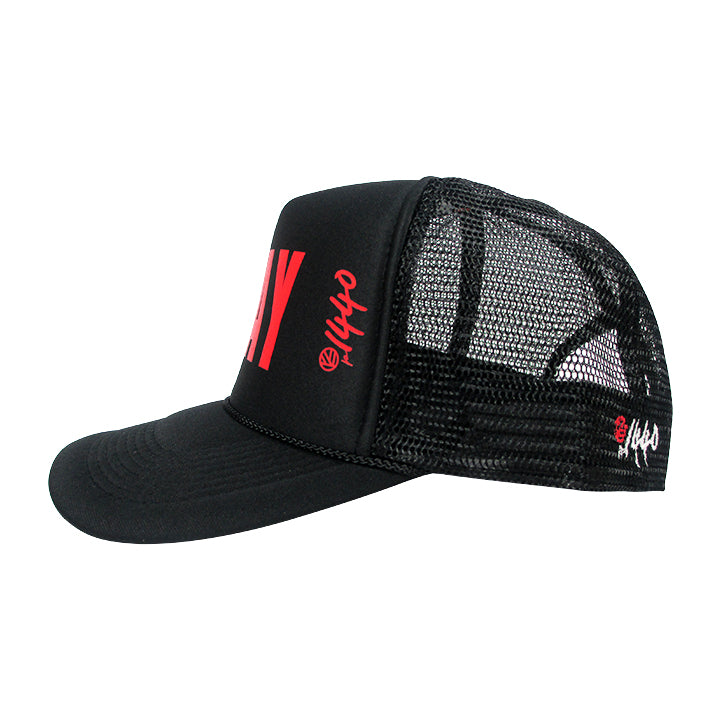360 Hat Foam Front PURPOSE Red