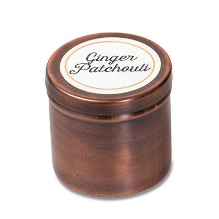 Himalayan Candle GINGER PATCHOULI Traveler Tin 4 oz