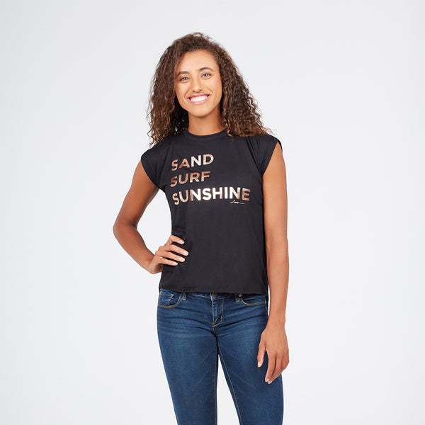 I Am SAND SURF SUNSHINE Tee