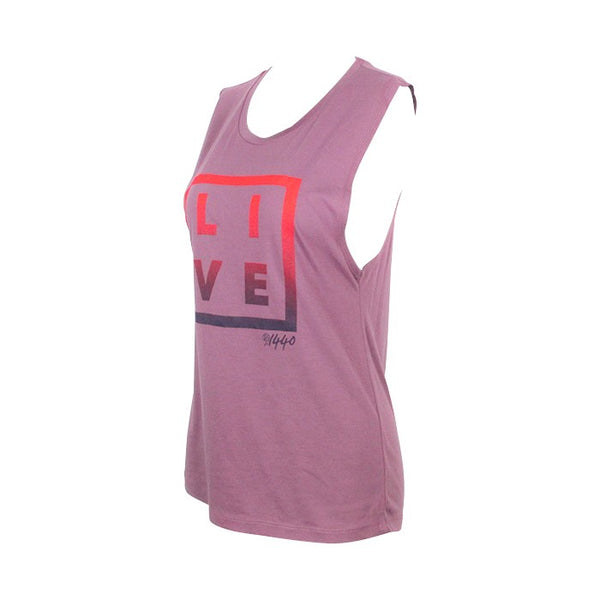LIVE Ombre Block Muscle Tank