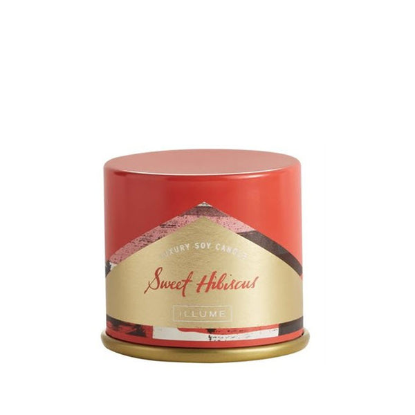 Illume Candle Hibiscus Demi Tin