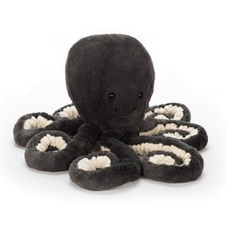 Jellycat Inky Octopus Stuffed Animal, Little