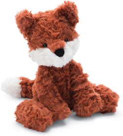 Jellycat Squiggle Fox Stuffed Animal, Small