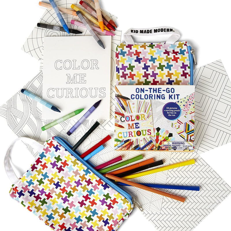 Kid Made Modern On-The-Go Drawing Kit Multi-Color