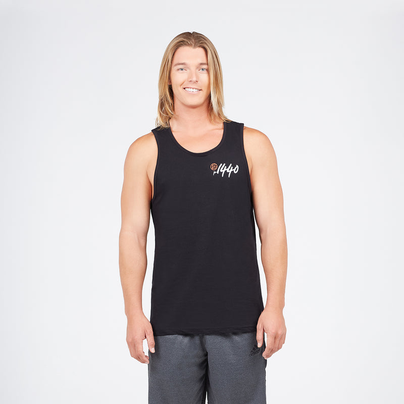 Men's Soft Cotton Tank Live Every Minute Ombre