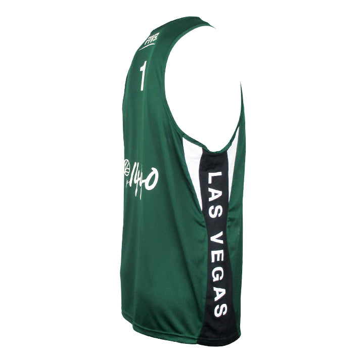 Jersey Pro Las Vegas #1 - Forest Green/Black/White