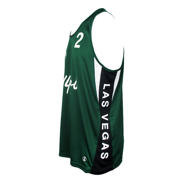 Jersey Pro Las Vegas #2 - Forest Green/Black/White