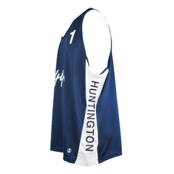 Jersey Pro Huntington #1 - Navy/White/White