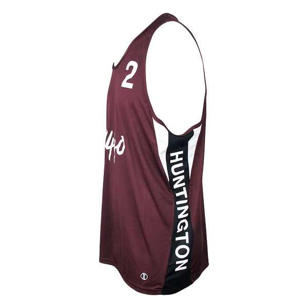 Jersey Pro Huntington #2 - Maroon/Black/White