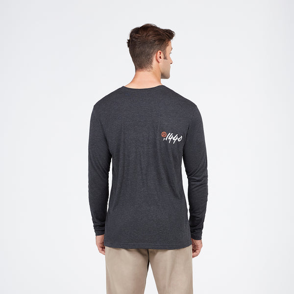 Sunset Volleyball Long Sleeve Shirt