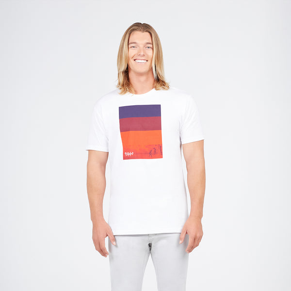 Colorblock Spectrum Cotton Tee