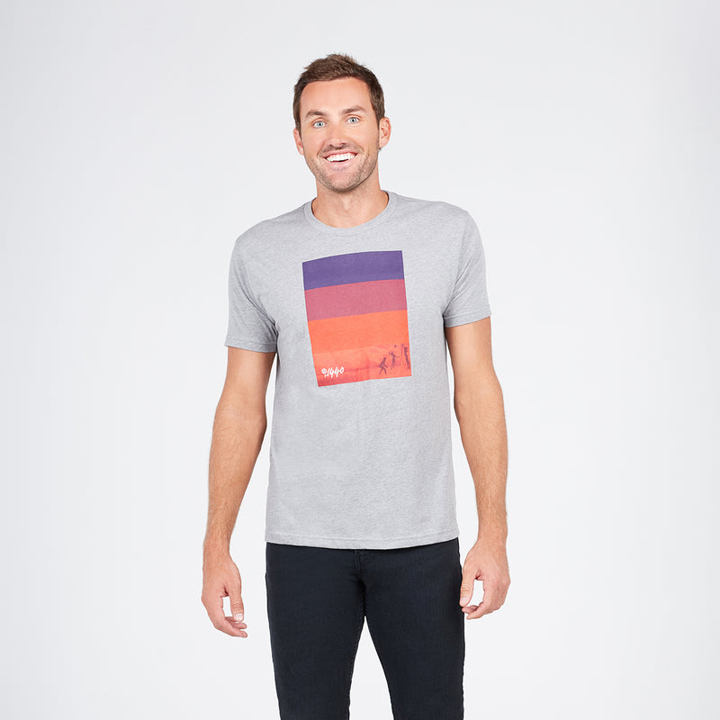 Colorblock Spectrum Tee
