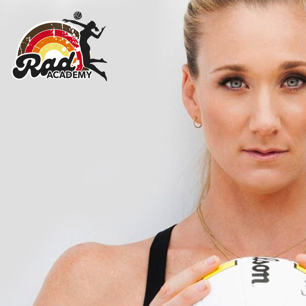 RAD Academy + Pro Tournament Volleyball Autographed by Kerri
