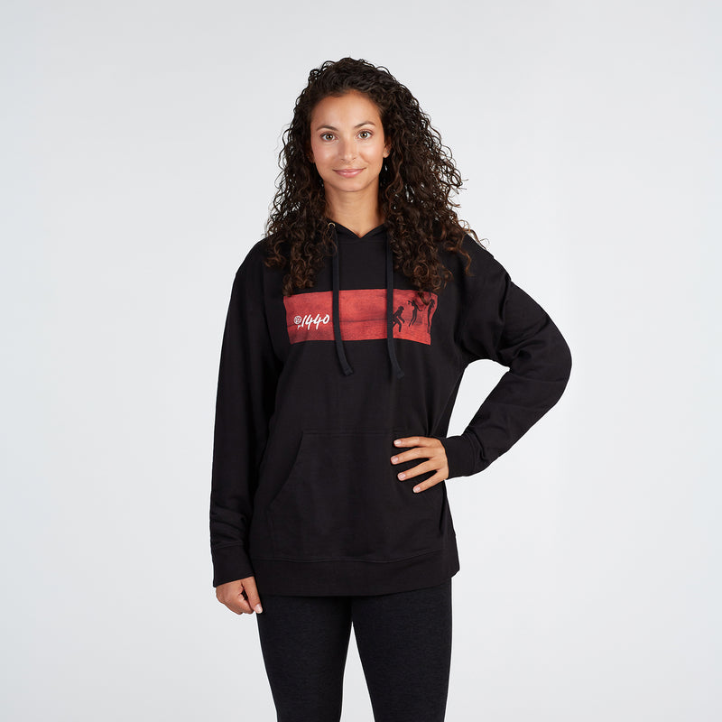 Sunset Volleyball Pullover Hoodie