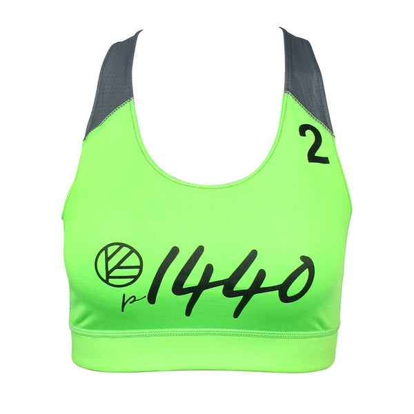 Pro Bra Huntington #2-Lime Green/Graphite
