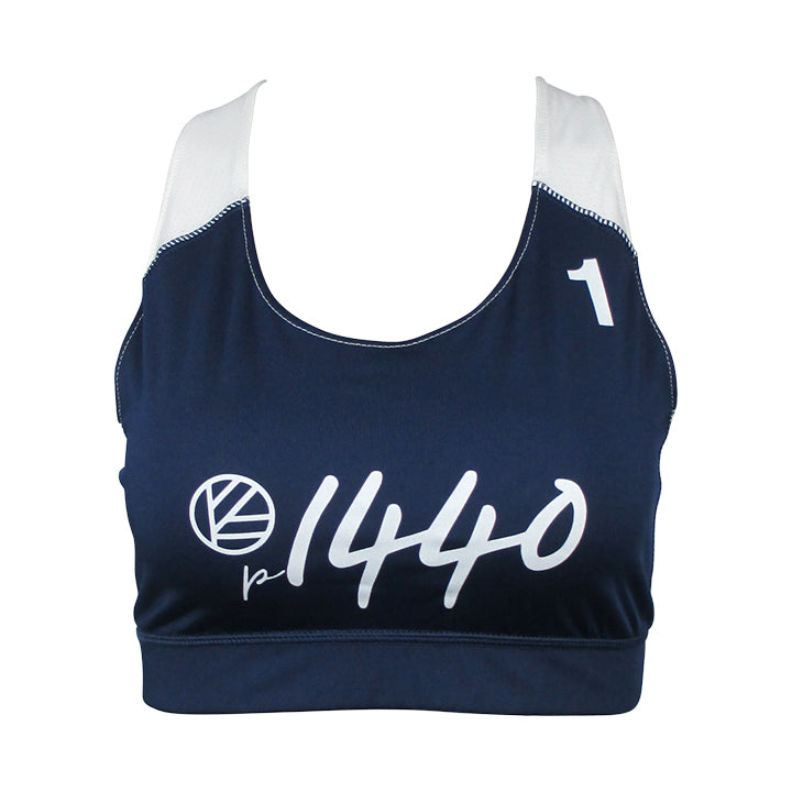 Pro Bra San Jose #1-Navy Blue/White