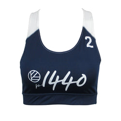 Pro Bra Huntington #2-Navy Blue/White