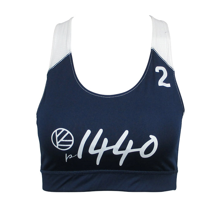 Pro Bra Huntington #2-Royal Blue/White