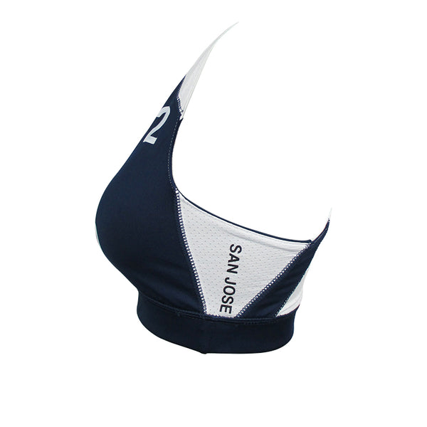 Pro Bra San Jose #2-Navy Blue/White