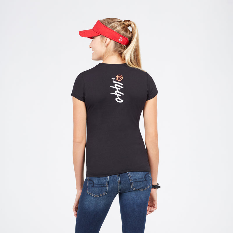 Women's Soft Cotton p1440 Logo Tee