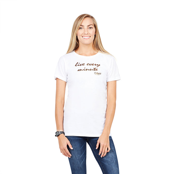 Kerri Gold Live Every Minute Tee