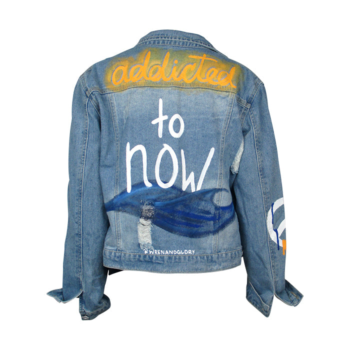 Wren+Glory Addicted to Now Demin Jacket