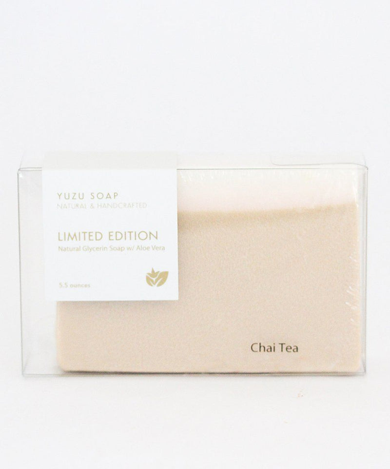 Yuzu Bath Soap Bar Chai Tea