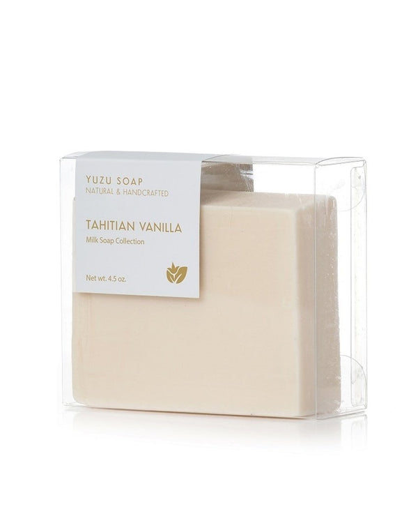 Yuzu Bath Soap Bar Tahitian Vanilla
