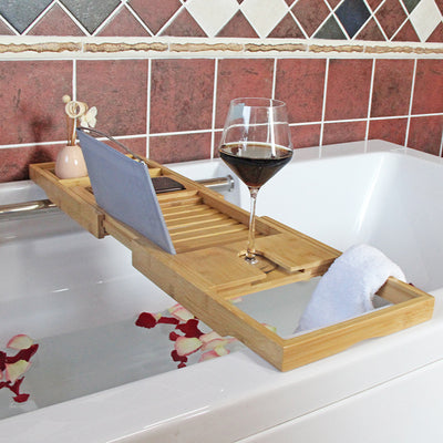 Bamboo bath tray best design